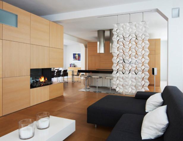Дизайн квартиры с фанели