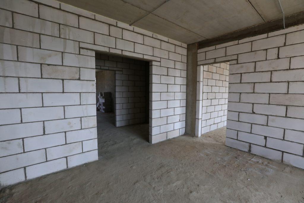 Несущие стены из керамзитоблоков