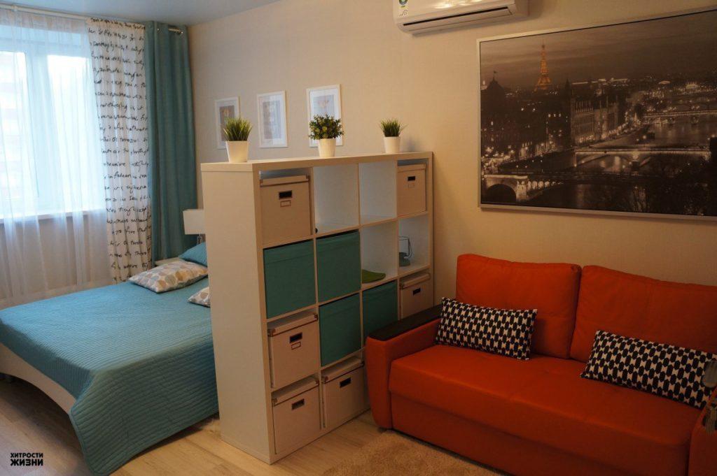 Перегородки в маленьких комнатах