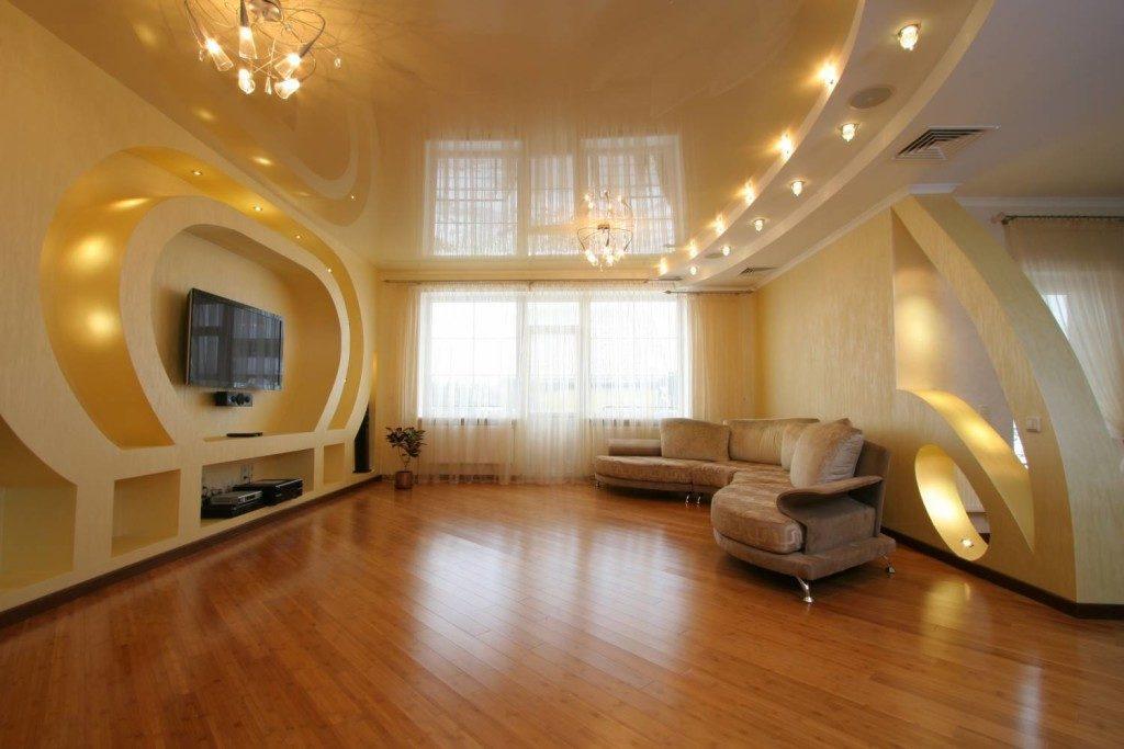 Потолки в комнате как элемент дизайна