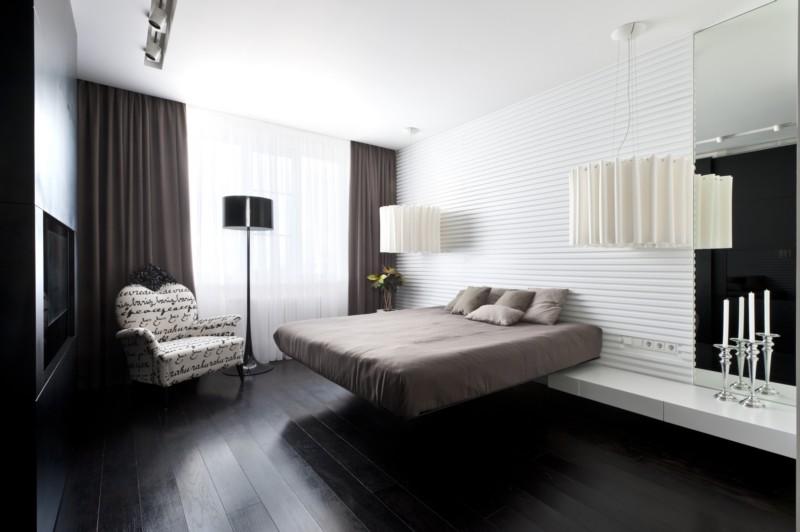 Светлые и тесные тона в дизайне комнаты