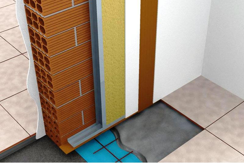 Звукоизоляция стен.