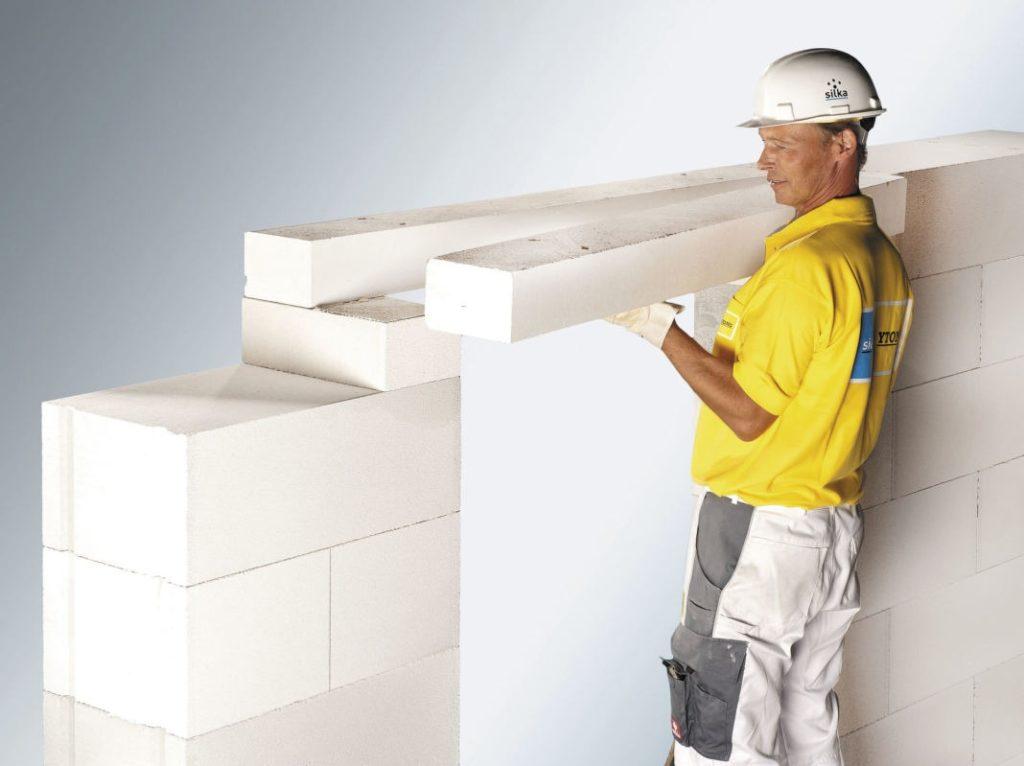 Монтаж перегородки из газобетонных блоков своими руками: пошаговая инстукция