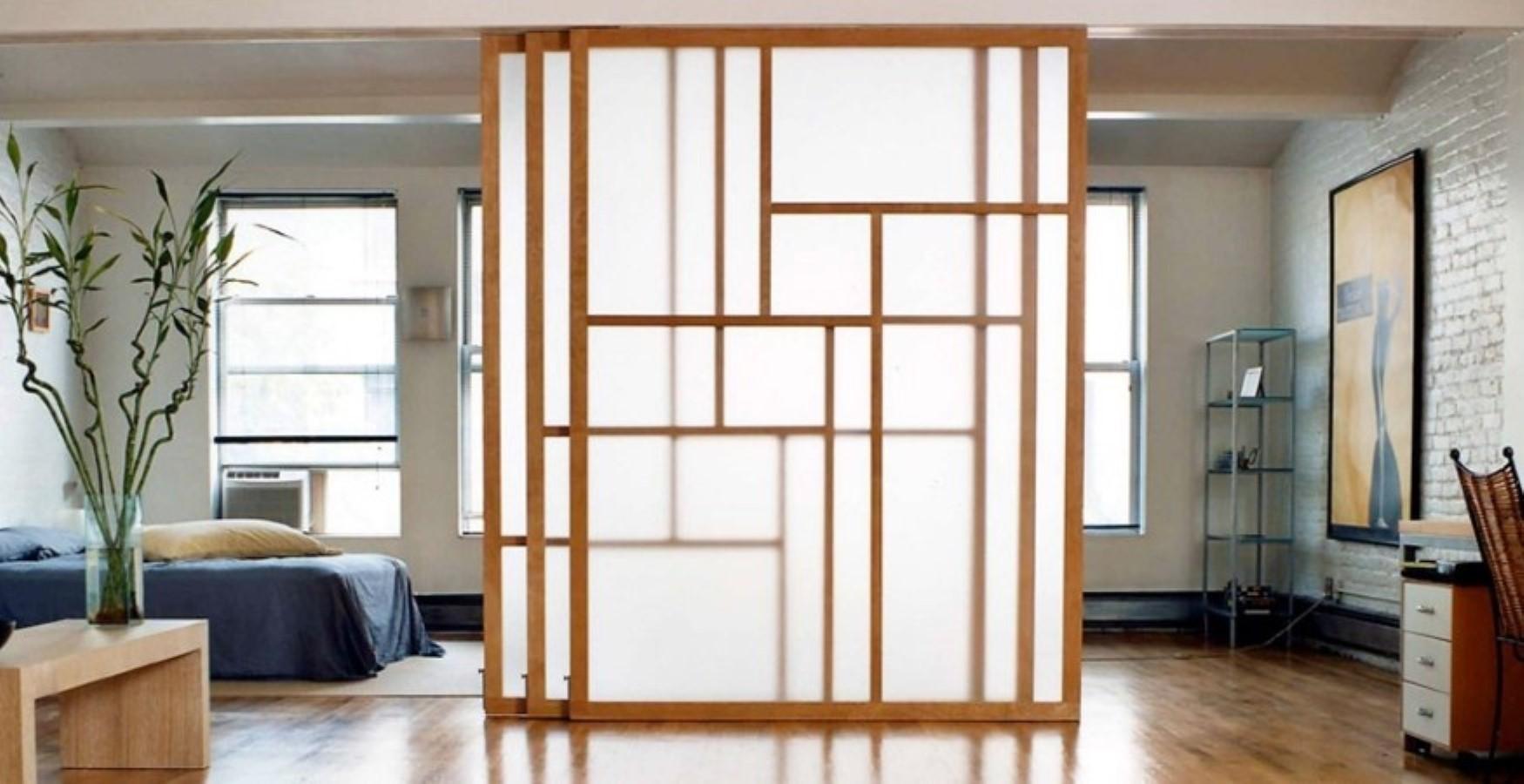 Передвижные двери перегородки в квартире фото пай выглядит