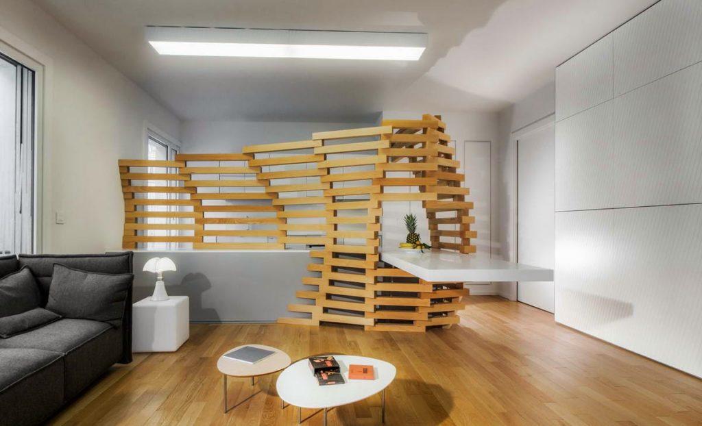 Красивые, декоративные перегородки в интерьере-дизайнерские решения
