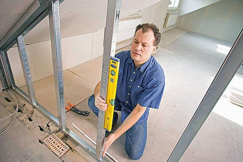 Подробная инструкция монтажа гипсокартонной перегородки